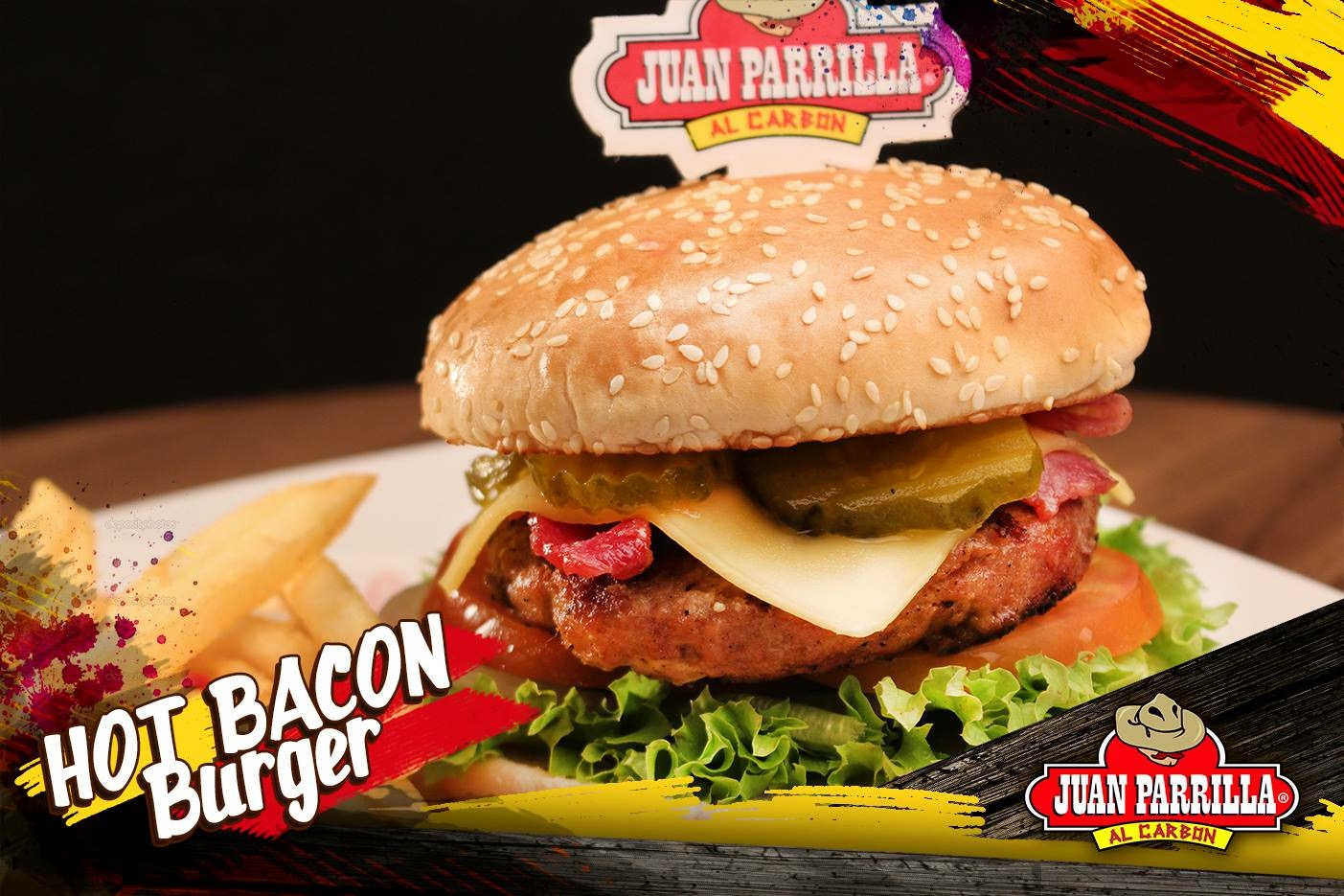 Hot Bacon Burger