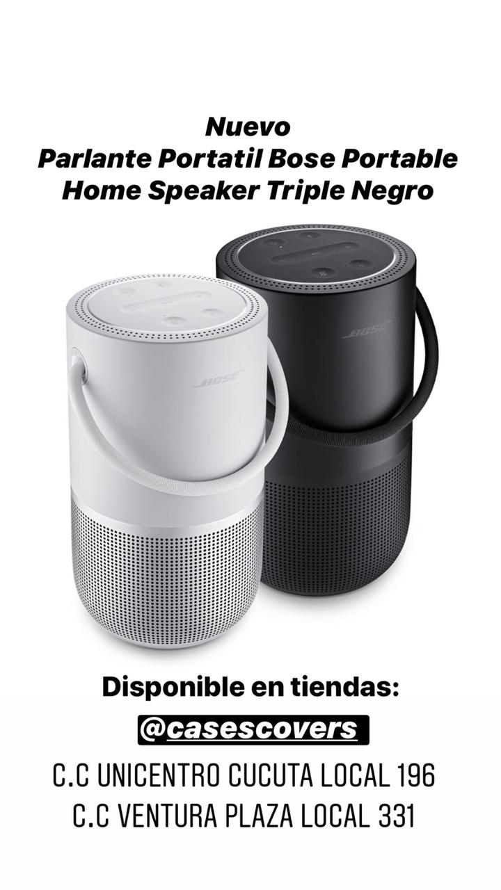 Bose speaker triple black/white