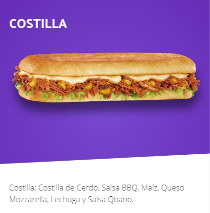 Sandwich COSTILLA