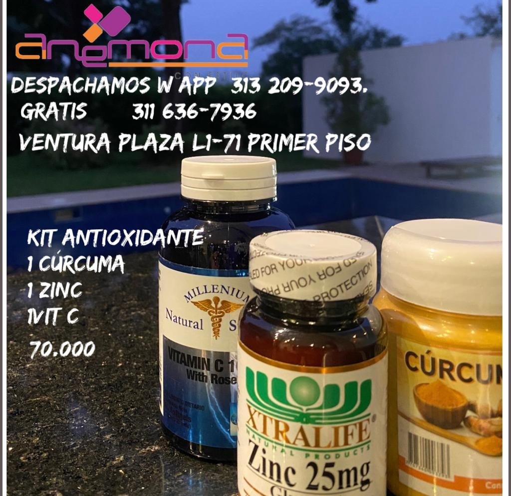 Kit antioxidante