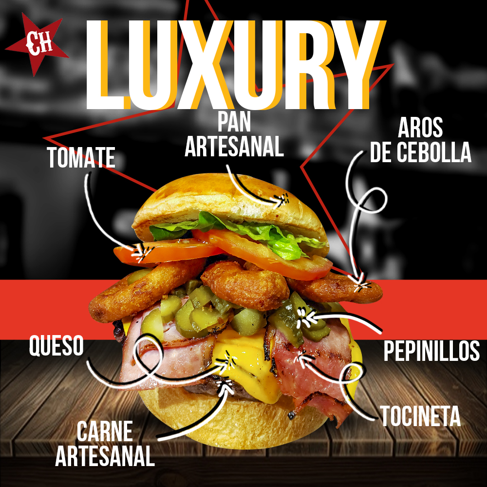 Hamburguesa Luxury
